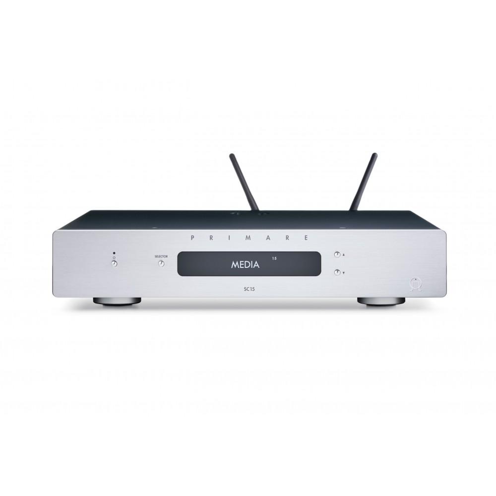 Primare SC15 - Forforsterker, DAC og nettverksspiller med WiSA