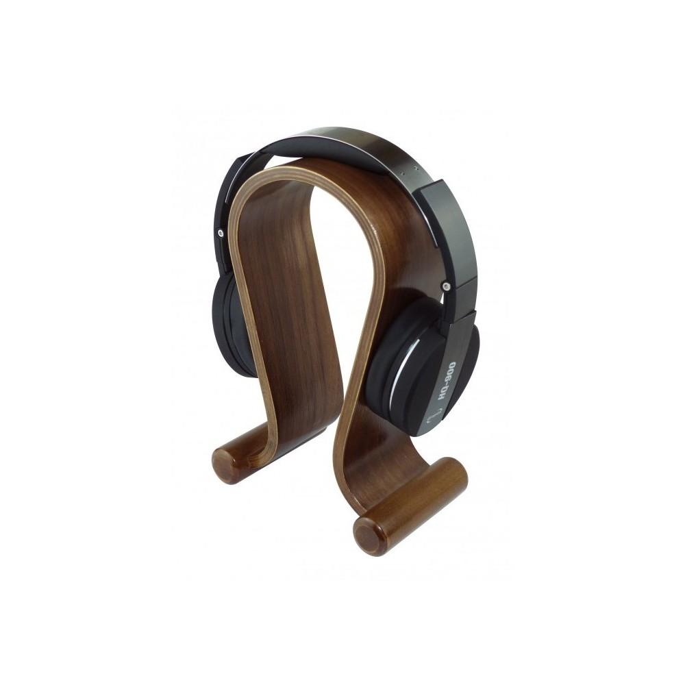 Hodetelefonstativ valnøtt - Dynavox KH-500