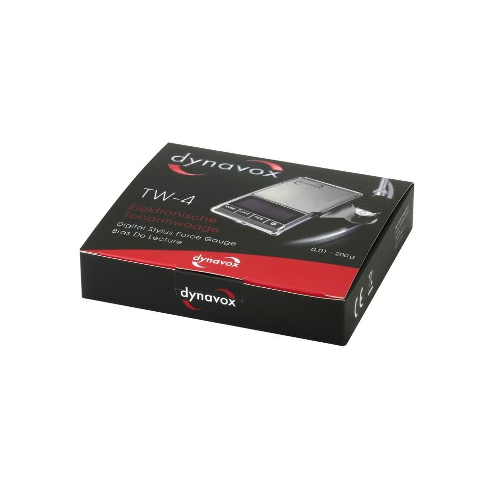 Elektronisk nålevekt for platespiller - Dynavox TW-4