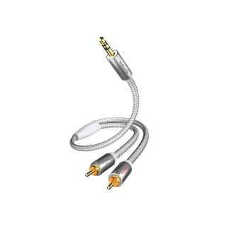 3,5mm minijack-kabel - In-akustik Premium