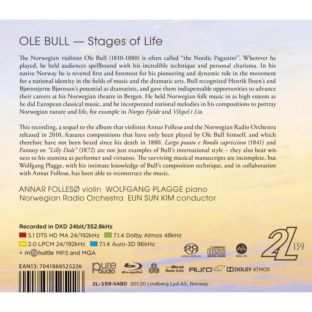 Ole Bull: Stages of Life - Follesø, Annar, KORK (Blu-ray + Hybrid SACD)