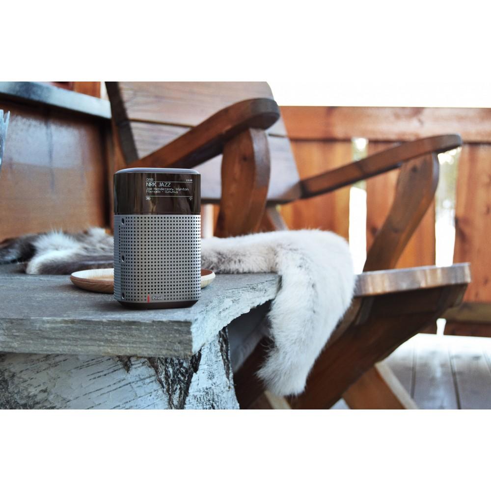 Pinell north bærbar digitalradio - DAB/FM/Bluetooth/Spotify