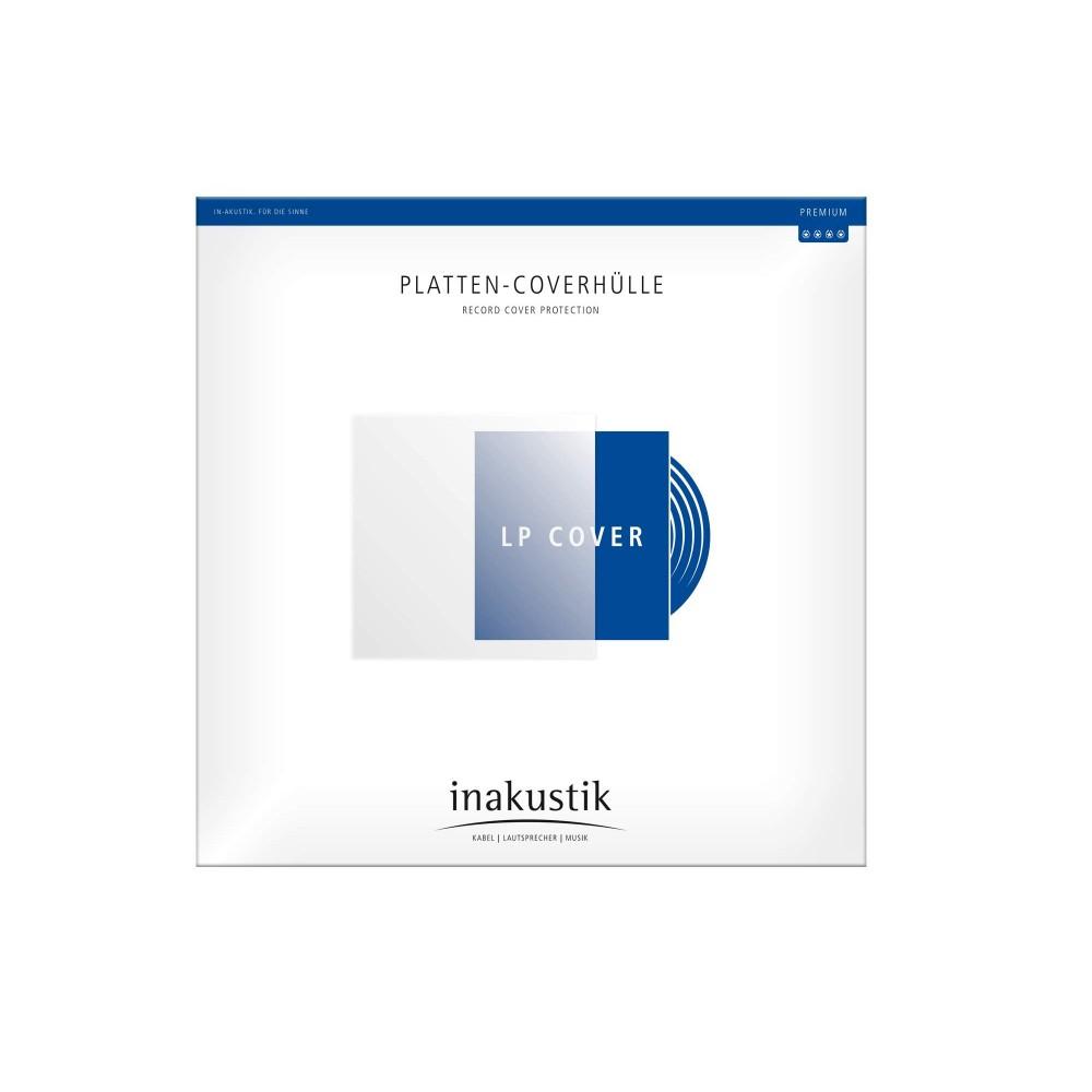 Yttercover/plastlommer for vinyl / LP - 50 stk - in-akustik