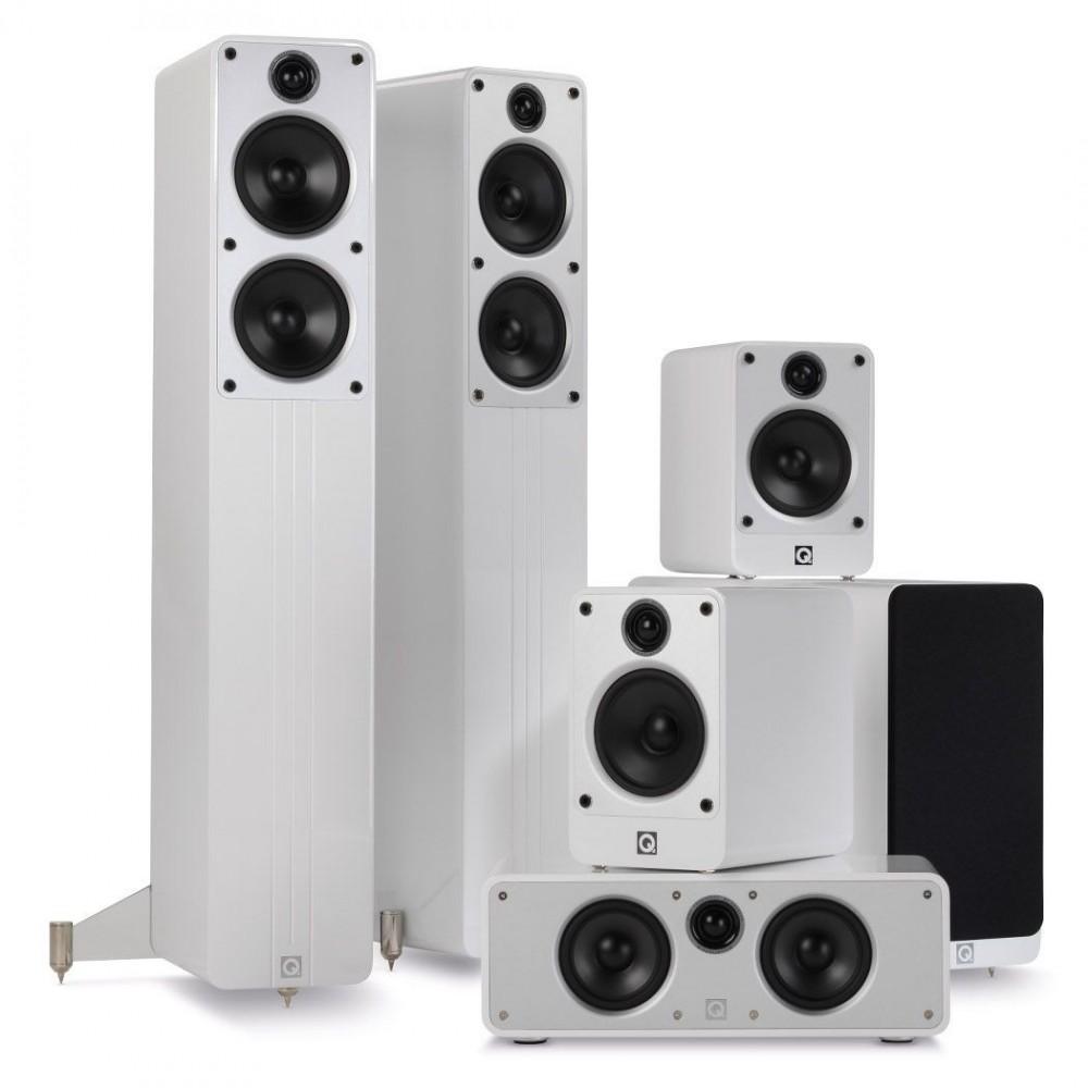Q Acoustics Concept - 5.1 hjemmekinopakke