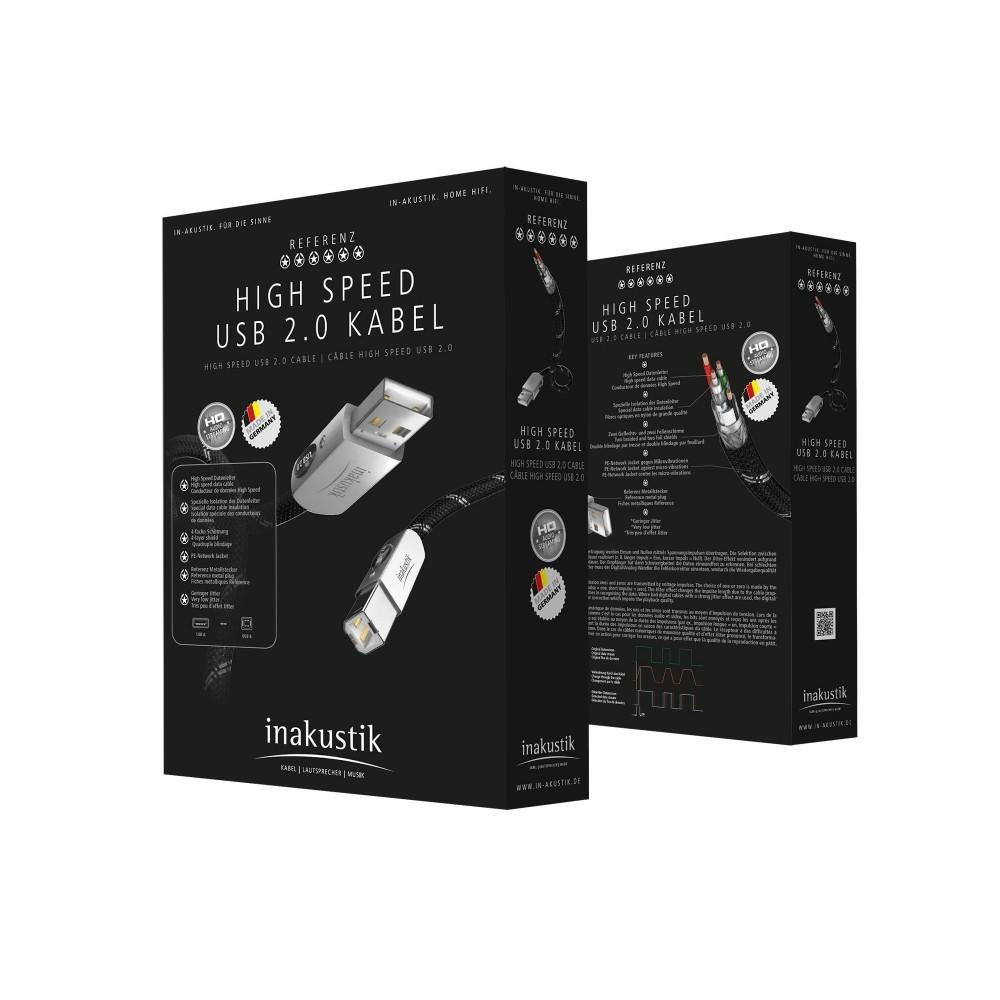 USB-kabel (A-B) - In-akustik Reference