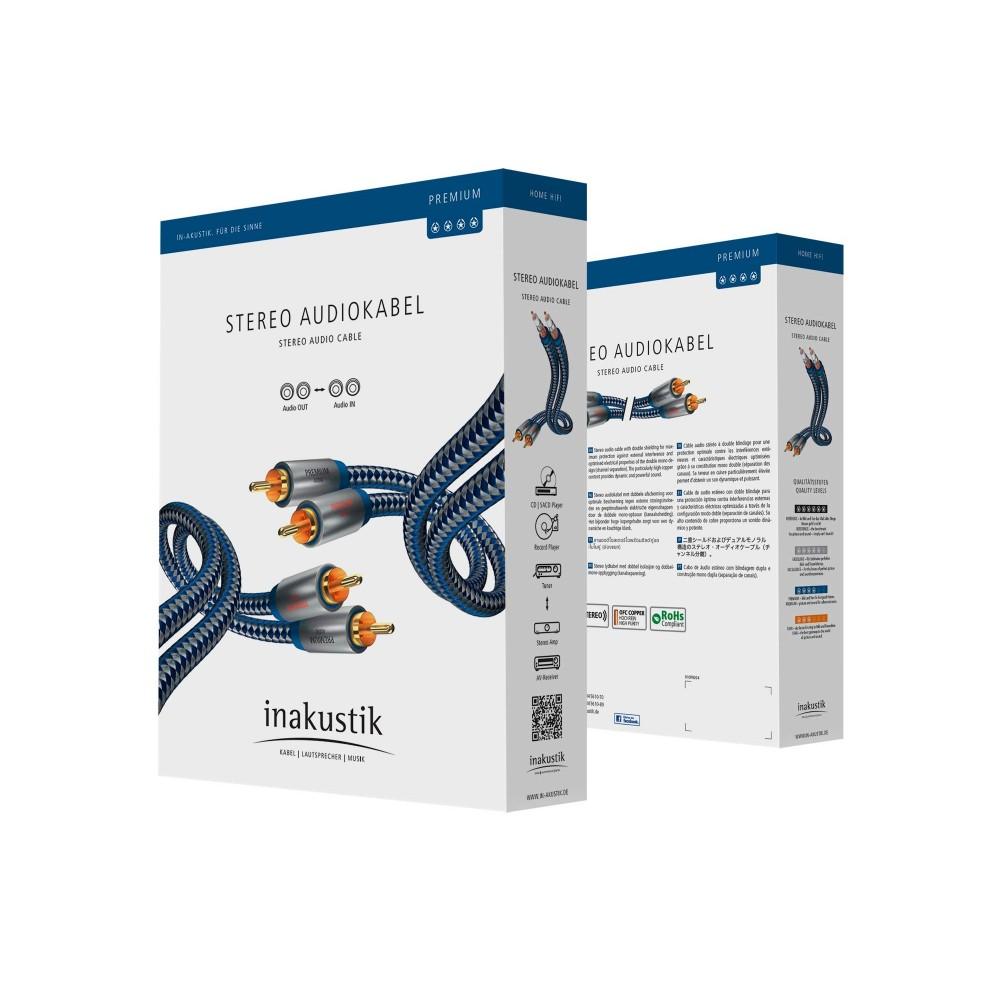 RCA-kabel stereo analog - Premium - in-akustik