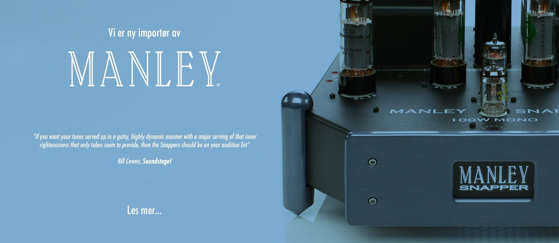 Ny Importør av Manley i norge!